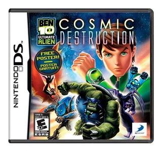 Ben 10 Ultimate Alien Cosmic Destruction Ds Mídia Física