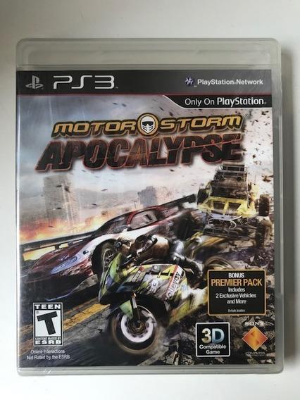 Motorstorm Apocalypse Ps3 Playstation 3 Original Raro