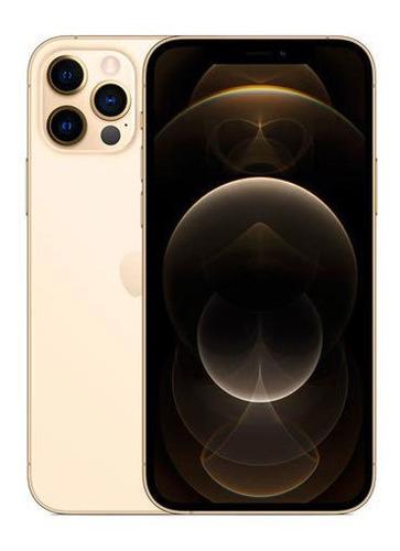 Celular Smartphone Apple iPhone 12 Pro Max 128gb Dourado - Dual Chip