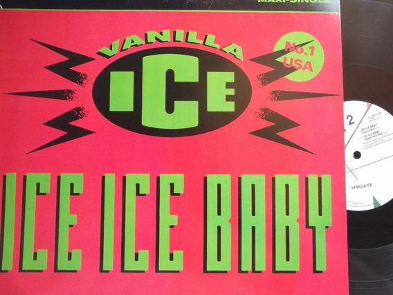 Vanilla Ice - Ice Ice Baby (club Mix) 3 Tracks Importado