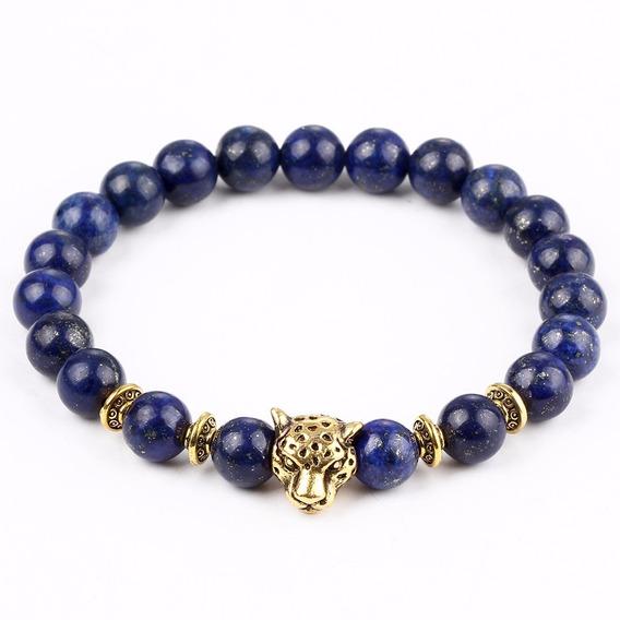Bracelete Natural Masculino - Beads De Ouro 18k Ou Prata 925