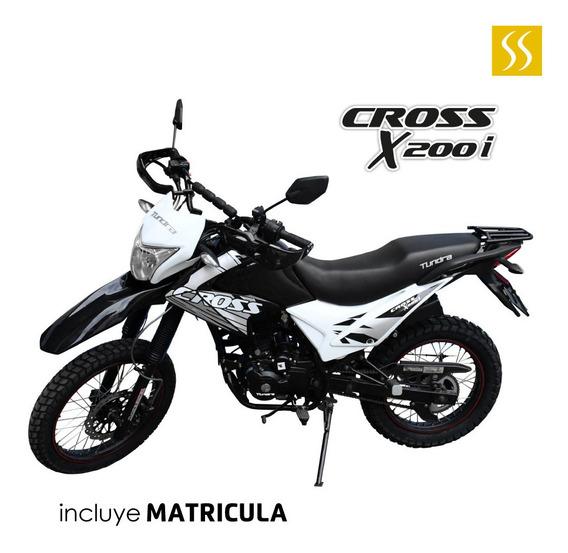 Moto Tundra Td200gy 200cc Tipo Enduro Incluye Matricula