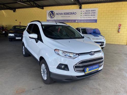 Ford Ecosport Se 1.6 Branco 2015