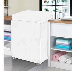 Capa Pra Máquina De Lavar Roupas De 10 A 16kg Diversas Cores