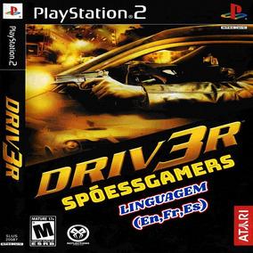 Driv3r Ps2 ( Carros ) Patch Desbloqueado