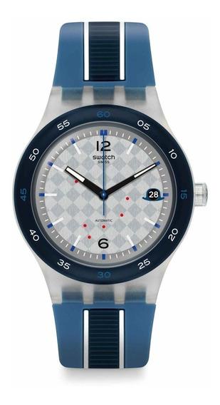 Reloj Swatch Thames Nuevo En Caja Msi