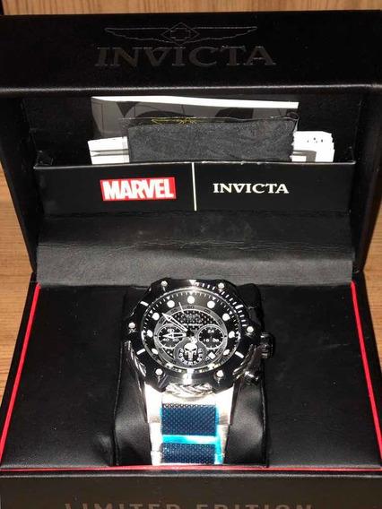 Invicta Marvel 25983 - O Justiceiro Edição Limitada