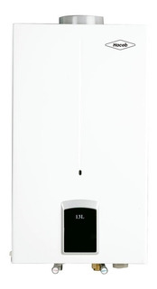Calentador A Gas De Paso Haceb 13lt Tn Gn Color Blanco