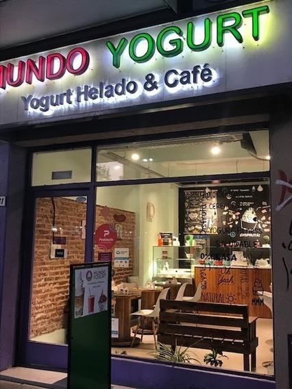 Fondo De Comercio Novedoso De Yogurteria Oportunidad