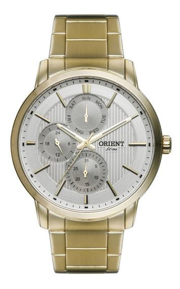 Relógio Orient Masculino Clássico Mgssm017 S1kx.