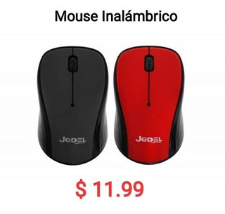 Mouse Inalambrico 2:4ghz