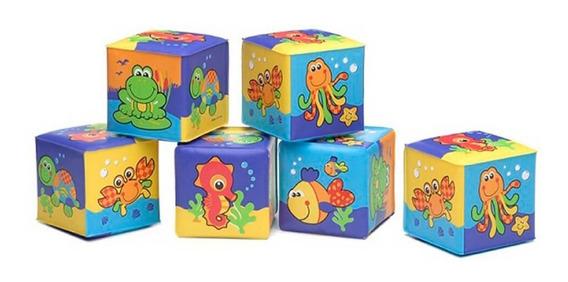 Juguete De Bebe Bloques Blandos Soft Blocks Playgro