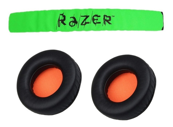 Kit Razer Kraken | 1 Headband + 1 Par De Espuma Razer Kraken