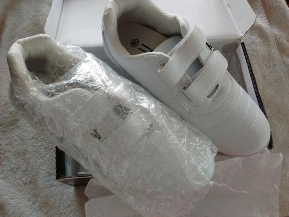 Zapatos Deportivos Colegiales Blancos