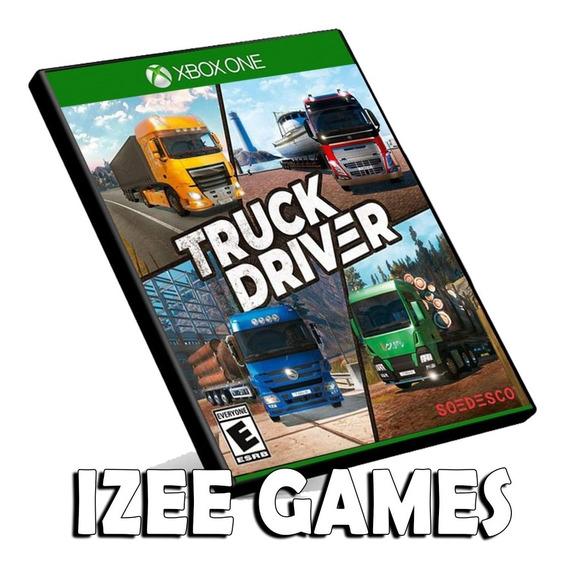 Truck Driver Xbox One Mídia Digital + 1 Jogo Grátis