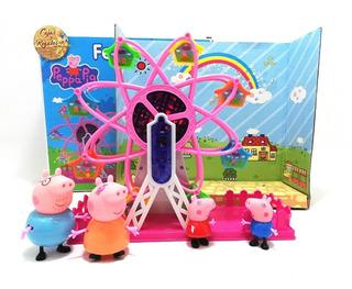 Peppa Pig Pepa Carrucel Con Luces Y Sonido Juguete