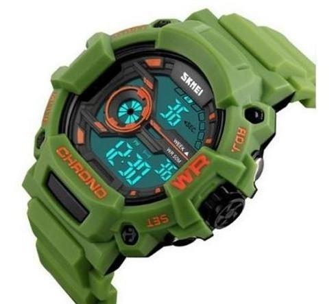 Relógio Masculino Skmei Digital 1233 Cinza Super Resistente