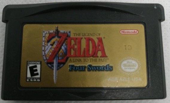 Tlo Zelda A Link To The Past Four Swords / Gba / *gmsvgspcs*