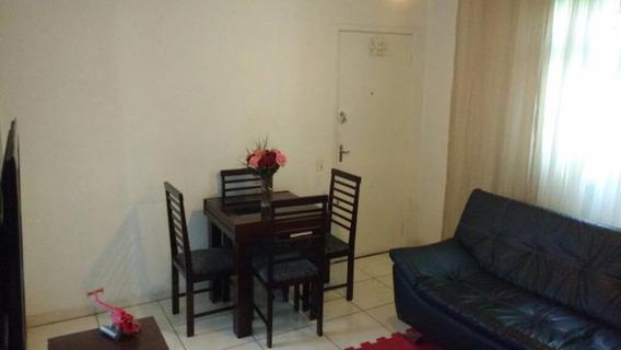 Apartamento Em Centro, São Vicente/sp De 65m² 2 Quartos À Venda Por R$ 264.000,00 - Ap221564