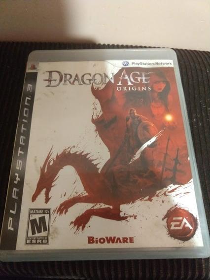 Dragon Age Origins Ps3 Mídia Física Original Playstation 3