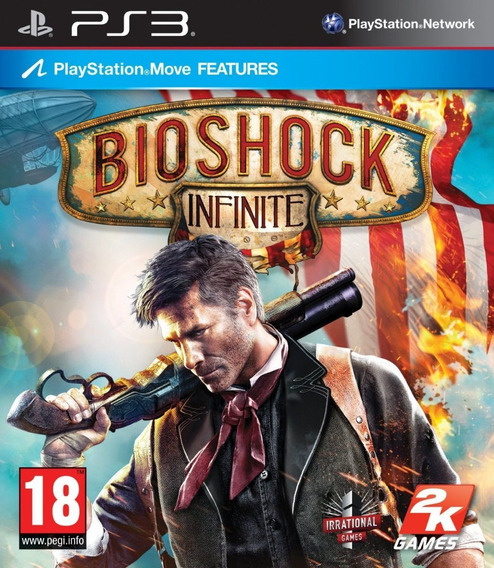 Game Ps3 Bioshock Infinite - Original - Novo - Lacrado