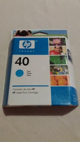 Tinta Original Hp 40 Vencido Sellado Caja Original
