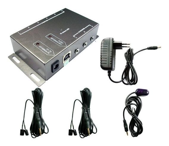 Extensor Repetidor De Controle Remoto Ir 4 Emissores
