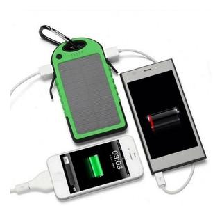 Kits De 20 Carregador Bateria Externa Solar 8000 Mah Usb Cel