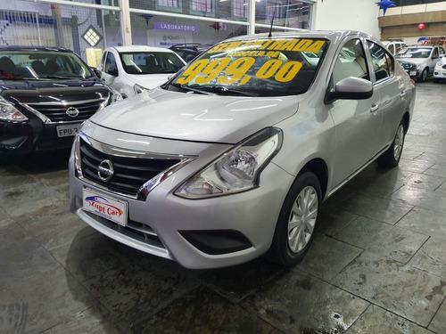 Nissan Versa 1.0 2018 Conforto Score Baixo / Zero Entrada