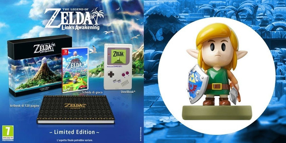 The Legend Of Zelda Links Awakening Limited Edition + Amiibo