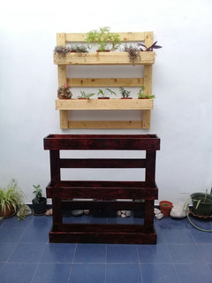 Muebles De Palet Jardines Verticales