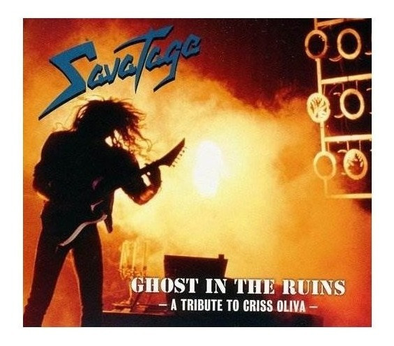 Savatage Ghost In The Ruins Digipack Usa Import Cd Nuevo