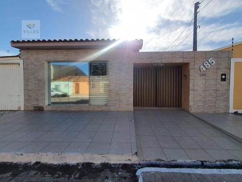 Casa Com 6 Dormitórios À Venda, 280 M² Por R$ 350.000 - Brasília - Arapiraca/al - Ca0227