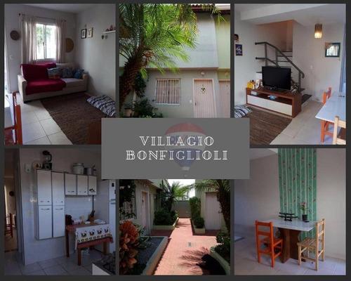 Imagem 1 de 29 de Sobrado Em Condominio Fechado Bonfiglioli - So0159