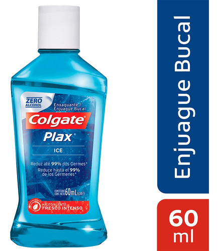 Enjuague Bucal Colgate Plax Ice X 60ml