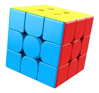 Cubo Rubik 3x3 Moyu Meilong 3x3x3 De Velocidad + Base
