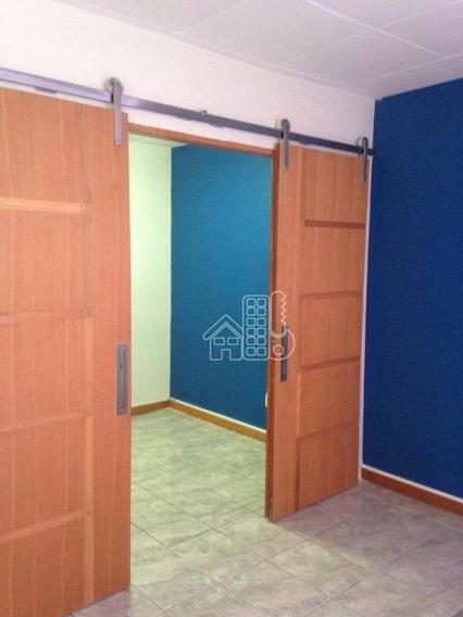 Sala, 53 M² - Venda Por R$ 245.000,00 Ou Aluguel Por R$ 1.000,00/mês - Centro - Niterói/rj - Sa0150