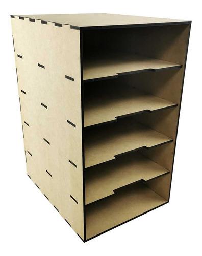 Imagen 1 de 9 de Organizador Archivero Papeles Oficina Corte Laser Mdf
