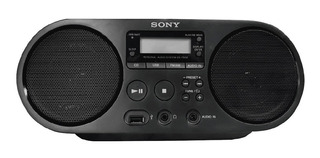 Grabadora Radio Sony Zs-ps50 Fm,am, Usb Cd Mp3 Entrada Audio