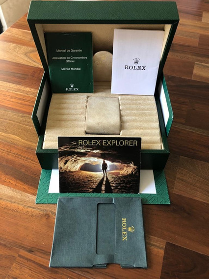 Estuche Rolex Grande Original Incluye Papeles.