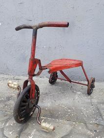 Tico Tico Antigo - Triciclo Anos 50 - Metal - Pedal Car