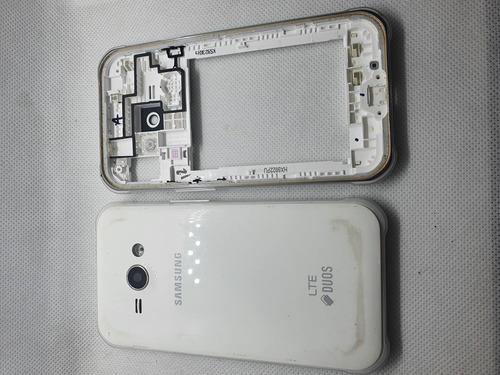 Carcaza Y Chasis Botones Samsung J1 Ace Usada Repuesto
