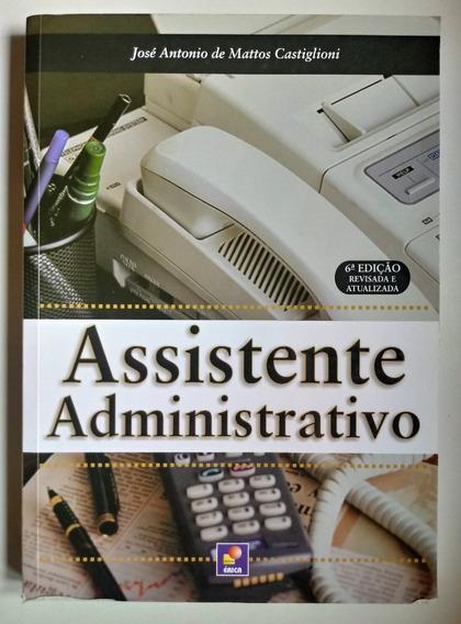 Livro: Assistente Administrativo 6° Edição