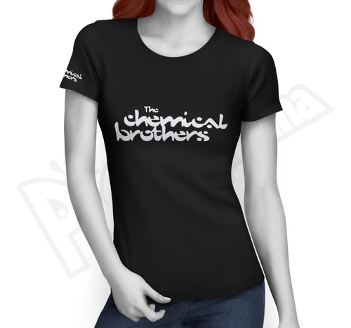 Camiseta Electro Music - The Chemical Brothers - Mujer