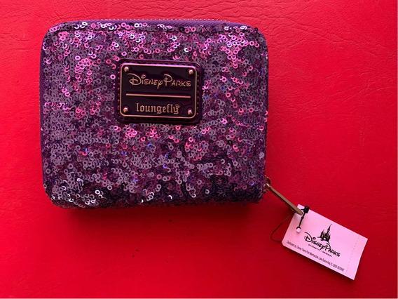 Billetera Disney Violeta Loungefly