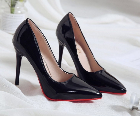 Sapato Scarpin Feminino Importado Salto Alto