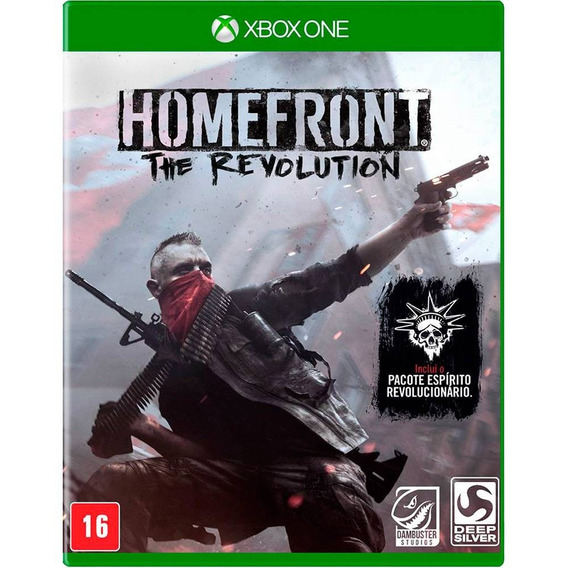 Homefront The Revolution Xbox One Midia Fisica Novo Lacrado