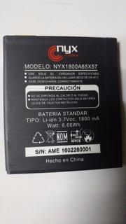 Bateria Nyx Lux 1800mah Nyx1800a65x57 Nueva Garantizado
