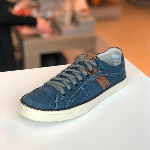Sapatênis Democrata Urban Azul Jeans Coleção Verão 20 - B M