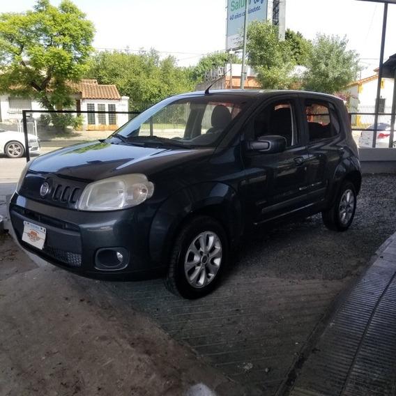 Fiat Uno 1.4 Attractive 2012 Aire 5 Puertas Credito Cuotas